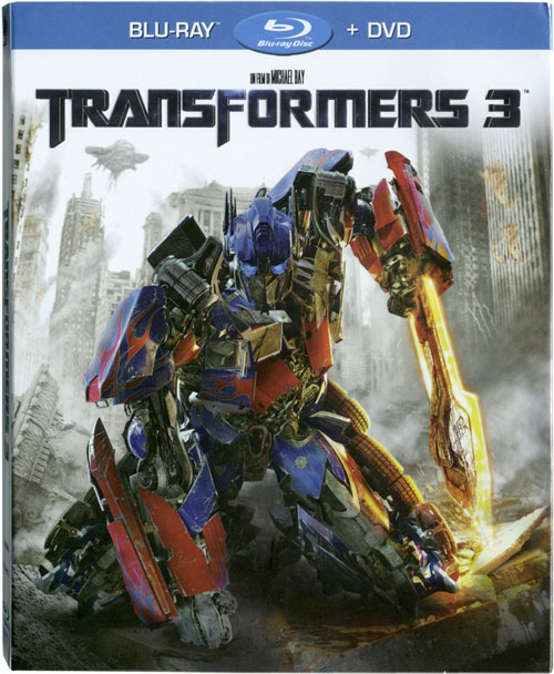 Transformers 3 en blu-ray