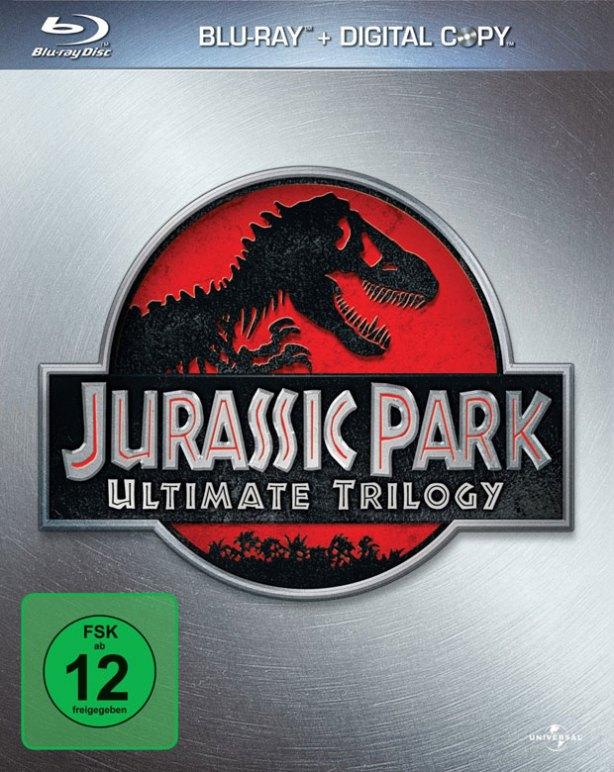 Trilogía Jurassic Park en blu-ray